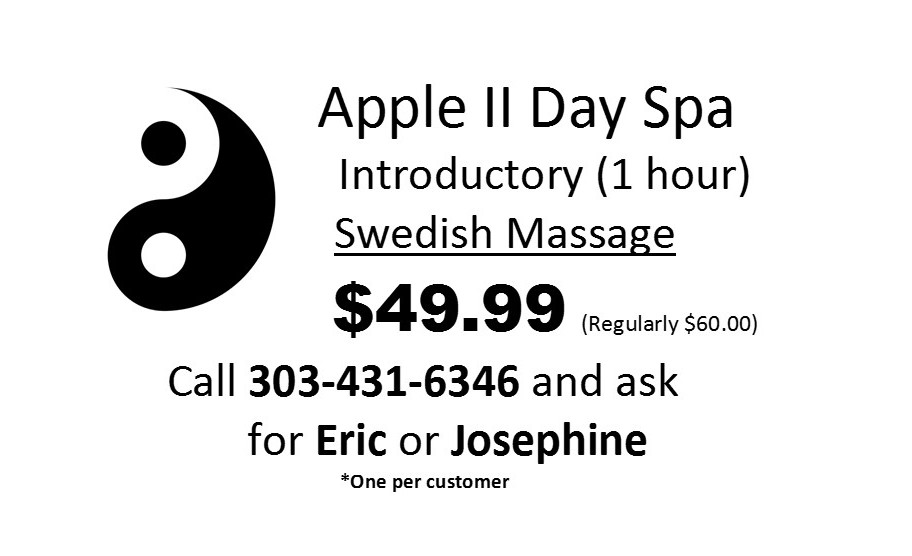 Appl II Massage Flyer pic